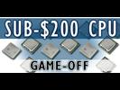 Pelivertailu: testissä 18 CPU:ta ja APU:ta alle 200 euron hintaluokassa