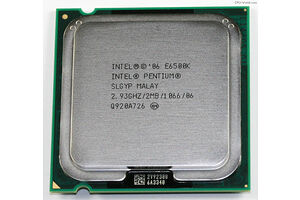 Intel Pentium Dual-Core E6500