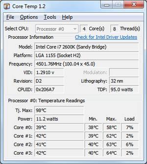 Core Temp (Portable 64-Bit)
