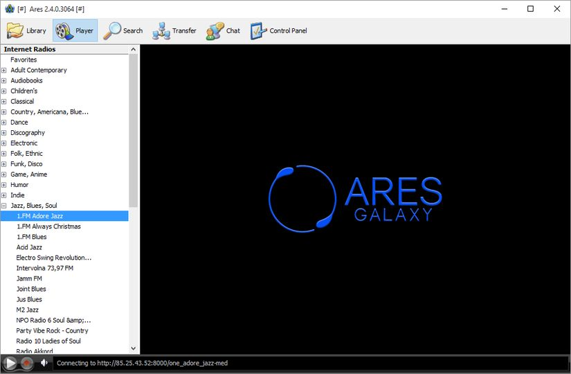 free ares for windows 7