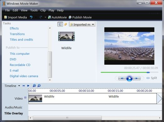 Download Windows Movie Maker Installer for Windows 7 v1.2 ...