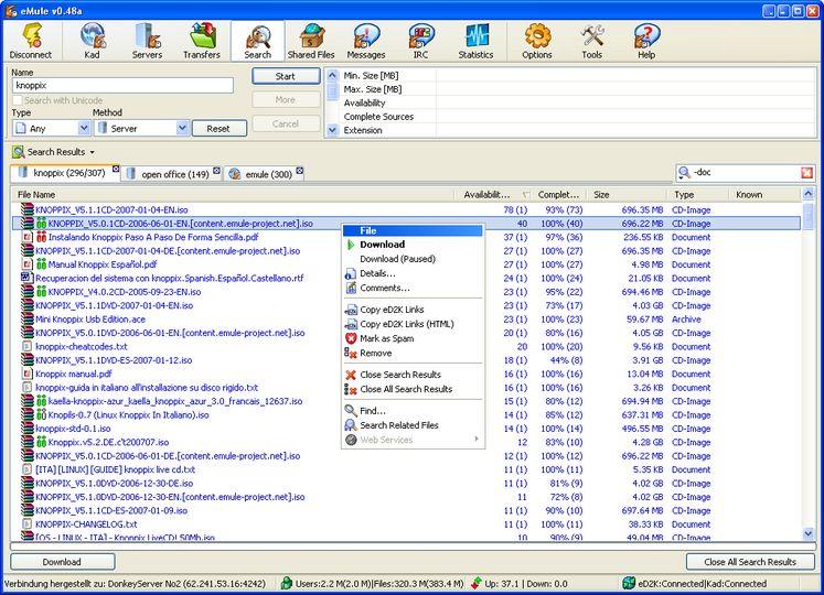 emule x windows 7 gratis