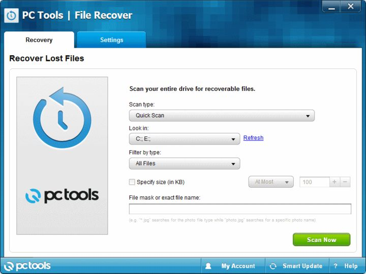 Download Pc Tools File Recover V9 0 Afterdawn