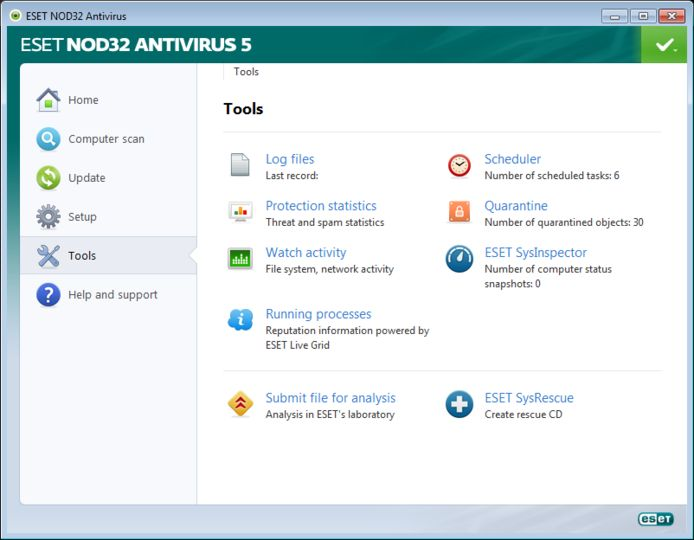 Eset nod32 antivirus v5 1 0 1 pro antivirus 500 working keys