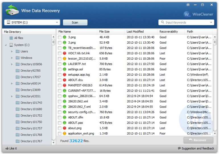 Wise data recovery v3 36 178 portable keyboard
