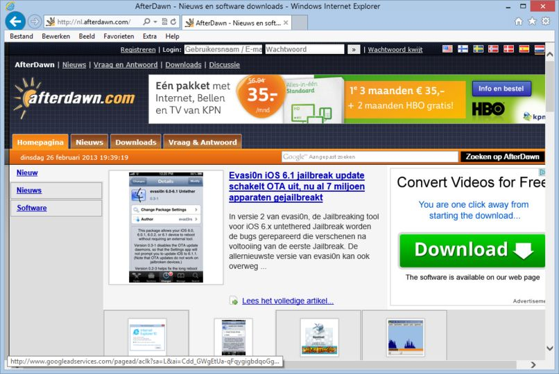 Download internet explorer 10 windows 7 64 bit nederlands gratis freeware afterdawn - Open office download for windows 7 64 bit ...