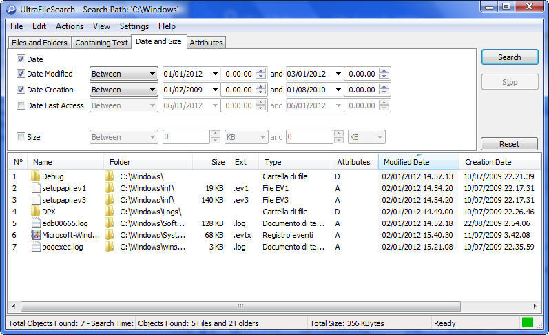 WatFile.com Download Free UltraFileSearch Lite Edition (portable) v3 3 0 (Build 13283)