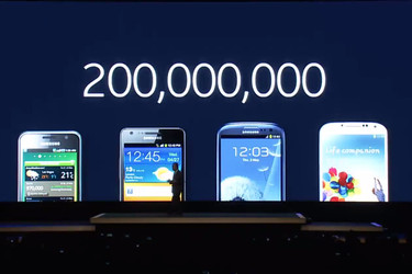 Samsungin Galaxy S -�lypuhelimia myyty t�h�n menness� yli 200 miljoonaa kappaletta