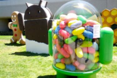 Jelly Bean nousi yleisimmäksi Android-versioksi