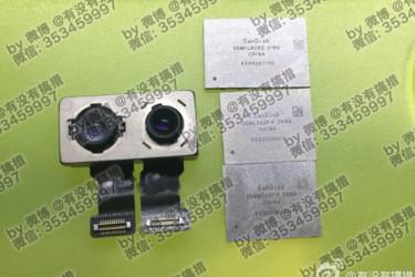 Kuvissa iPhone 7:n tuplakamera ja kyseenalaiset flash-muistit