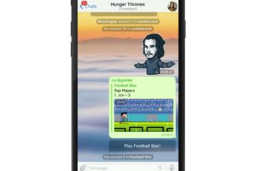 Telegram esitteli pelibotit