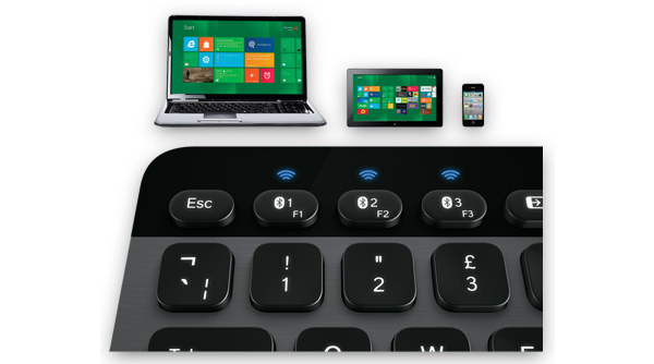 Logitech lancerer et oplyst tastatur til iOS og Android