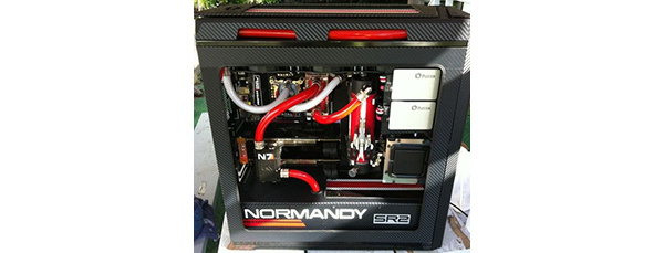 Se et veludfrt Mass Effect 3 Casemod