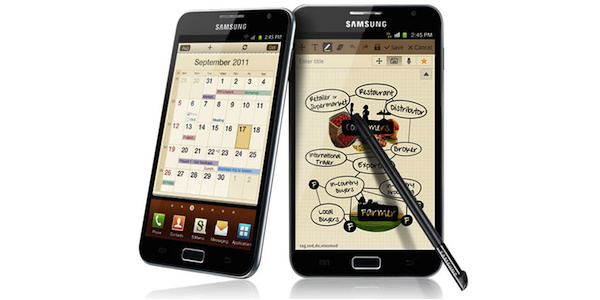 Samsung har solgt 10 millioner Galaxy Notes