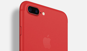 Apple releases a new iPhone, (PRODUCT)RED for charity