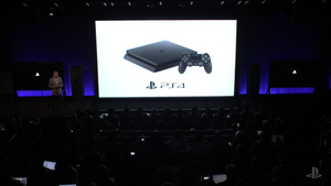 Sony esitteli päivitetyn version PlayStation 4 - pelikonsolista