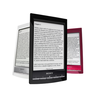 Sony unveils world's lightest e-reader