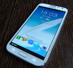 "Testiss� Galaxy Note II: ""Kun haluat n�hd� enemm�n"""