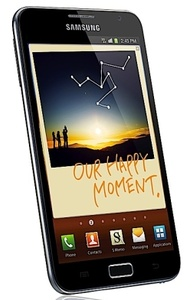 Galaxy Note coming next month for $300 on AT&T