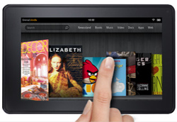 Amazon to sell ads on Kindle Fire's welcome screen