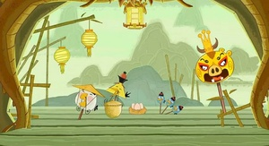 "Angry Birds Seasons updating to add ""Year of the Dragon"" levels"