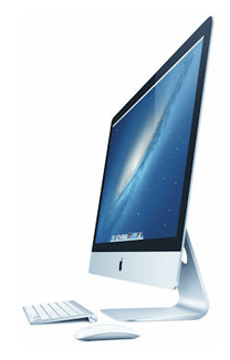 Apple unveils new iMac with improved design, performance
