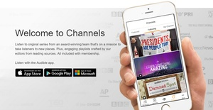 Audible launches 'Channels' premium podcasts for $4.95 per month
