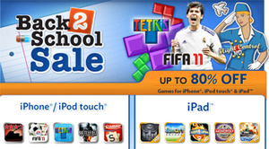 EA slashes prices of iOS games in 'Back-To-School' sale