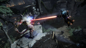 Here is the awesome interactive trailer for the upcoming Evolve video game