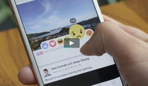 Facebook introduceert nieuwe reactieknoppen