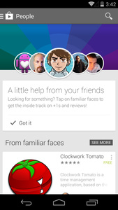 Google Play Store adds section letting you know what your friends are downloading