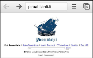 Anti-piracy group copies Pirate Bay for fake website