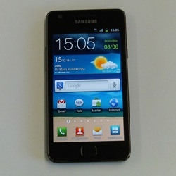 Testiss huippunopea Samsung Galaxy S II