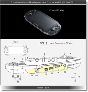 Sony patents Vita with USB, HDMI ports