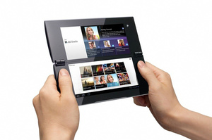 Sony S2 named Sony Tablet P