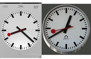 Apple to license iOS 6 clock from SBB 