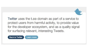 Twitter URL shortener to add two more characters