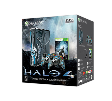 Microsoft unveils Halo 4 Xbox 360 bundle