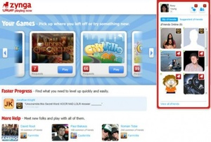 Zynga launches their own gaming platform, site